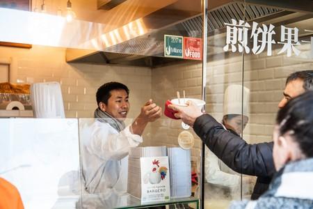 La Ravioleria Sarpi, in Milan's Chinatown, serves a unique hybrid of traditional Italian ravioli and Chinese dumplings