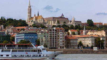 View over the River Danube in Budapest, Hungary