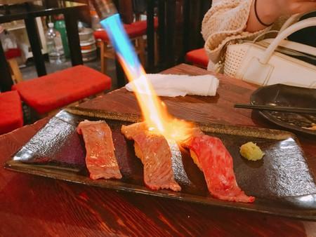 Blowtorched Salmon Nigiri Sushi | © Magical Trip