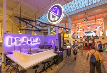 PBJ.LA is situated inside Grand Central Market.