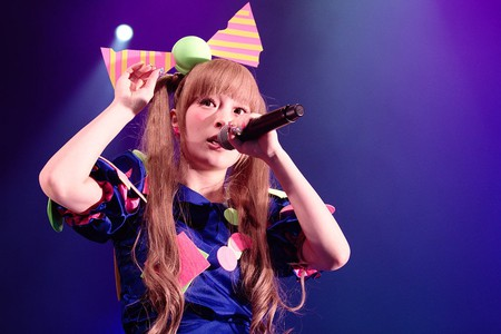 Kyary Pamyu Pamyu performing live at the Japan Expo 2012 in Paris, France