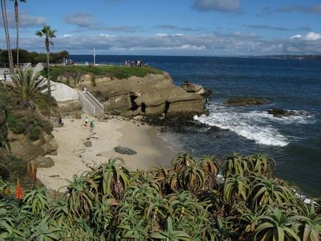 La Jolla is home to seven sea caves, of which only one is accessible via land