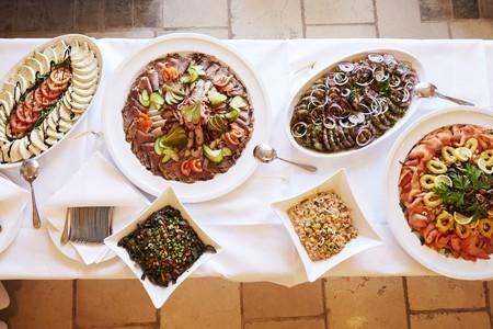 A spread of Austrian cuisine