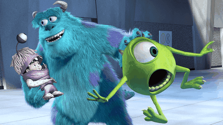 Boo, Sully and Mike
