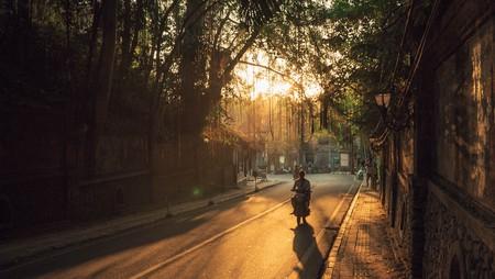 Golden hour in Ubud