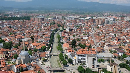 The view of Prizren from the fortress