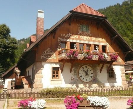 Largest cuckoo clock in Bavaria
