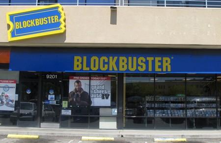 A Blockbuster store in California