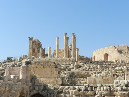 Roman columns of Jerash