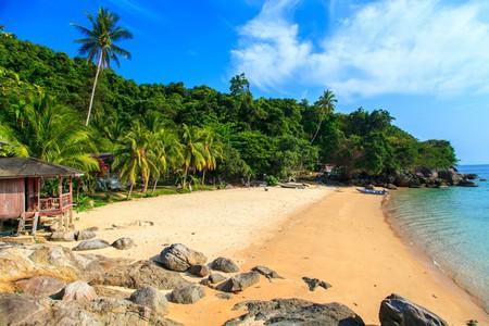 Pristine beaches in the Perhentian Islands