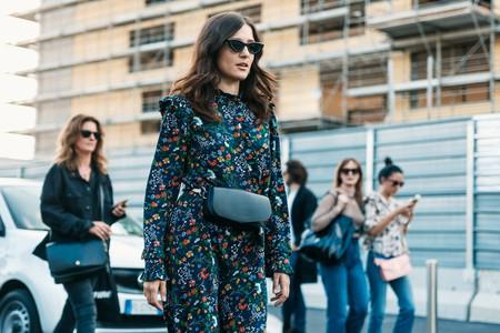 Eleonora Carisi at Milan Fashion Week Spring/Summer 2018