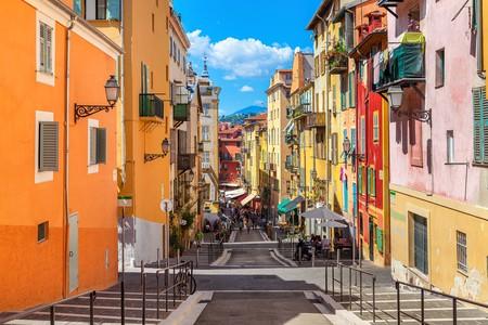 Street in Nice, France.