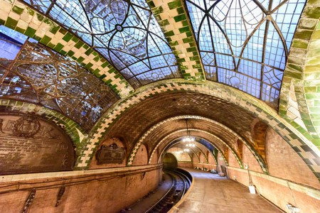 The old City Hall subway station