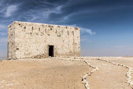 The ancient city of Ubar, Shisr, in the Dhofar region, Oman