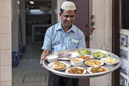 Tuck into local Bahraini cuisine at Manama Souq