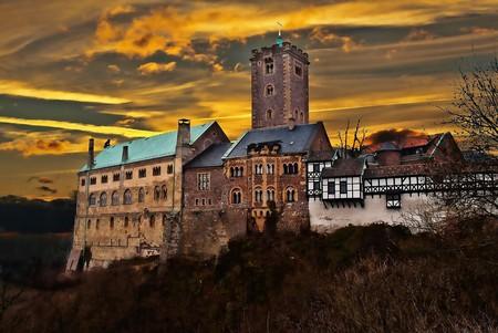 UNESCO castle in Thuringia, Germany