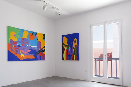 Todd James, 'The Gods Are Smiling on Us', 'Beach Patrol', installation shot