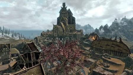 Skyrim's Whiterun city