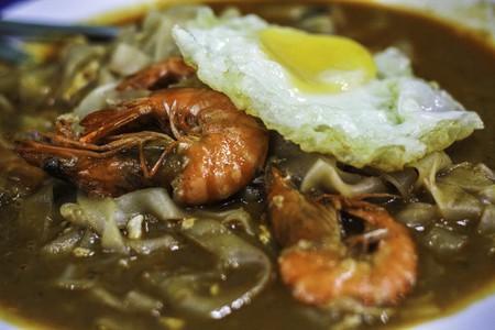 Malaysian style fried kuey teow