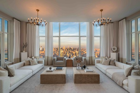 Penthouse 82 at 30 Park Place is currently on the market for $30 million