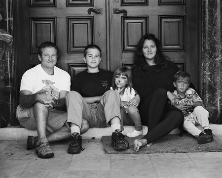 The Williams family in 1995