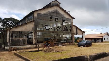 Abandoned factory in Fordlandia, Brazil