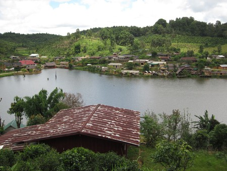 A charming village in Mae Hong Son