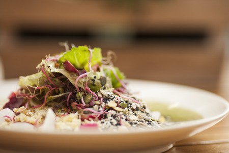 There are a lot of vegetarian and vegan options in Reykjavik