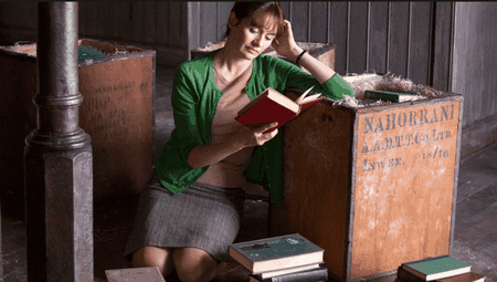 Emily Mortimer in 'The Bookshop'