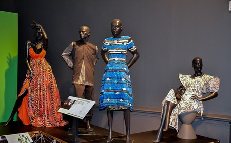 Fashion Cities Africa Exhibition at the Brighton Museum