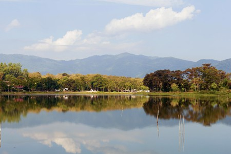 Nhong Bua Lake, Chiang Rai, Thailand