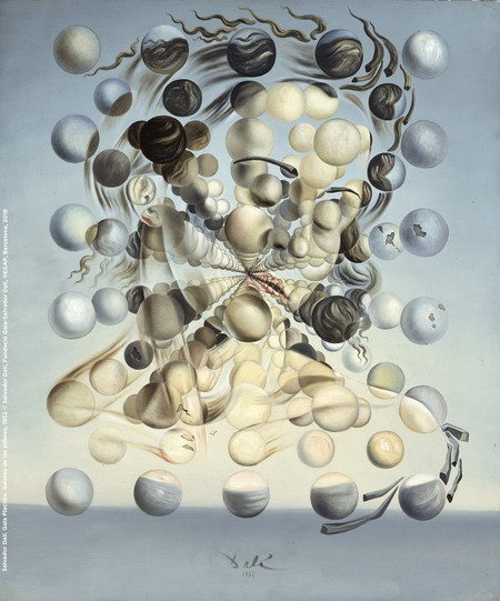 Gala Placidia by Salvador Dalí