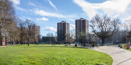 Shepherd's Bush has plenty of green space for taking some time out