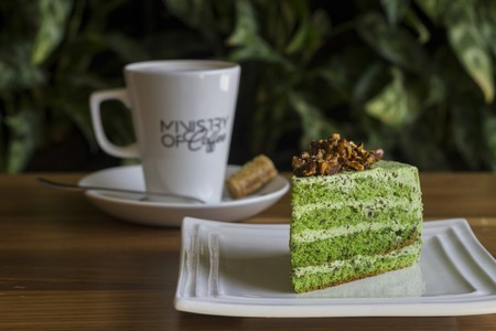 Coffee and cake at Ministry of Coffee