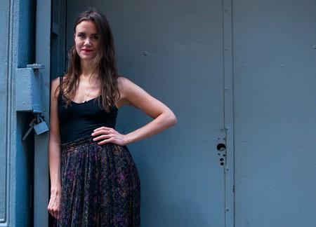 Ása Helga Hjörleifsdóttir in New York City