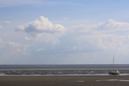 Neuwerk coastal mudflats