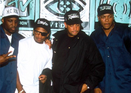 N.W.A at the 1991 MTV Video Music Awards