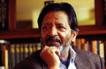 Author VS Naipaul in his London apartment, 7 April 1994