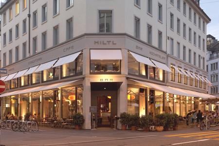 Haus Hiltl, the world's first vegetarian restaurant
