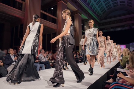 Shanghai International College of Fashion runway show at Edinburgh Festival, August 2018