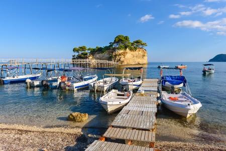 Bay of Laganas, Zakynthos island, Greece