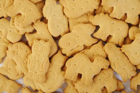 Animal-shaped crackers