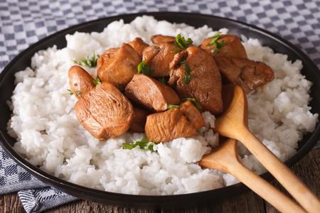 Philippine cuisine, Adobo with rice