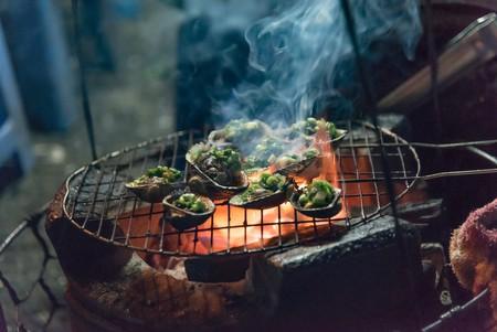 Vietnamese Street Food at Night Market