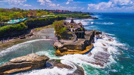 Temple in the Ocean, Bali, Indonesia