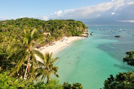 Diniwid beach, Boracay Island, Philippines.