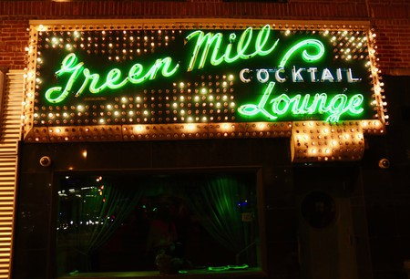 The Green Mill's iconic marquee has been a Chicago beacon for a century