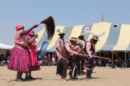The Aawambo people from northern Namibia are a proud tribe with a rich culture and customs