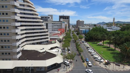 Windhoek, a beautiful, growing city is filled with interesting buildings and a skyline that's constantly changing