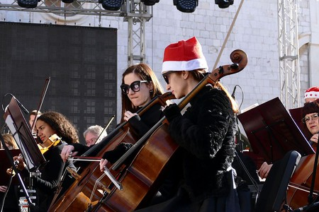 A festive classical concert in Dubrovnik, Croatia